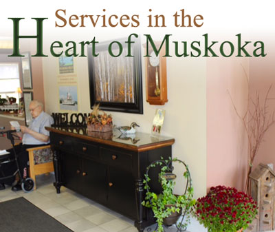 Services and benefits at Muskoka Hills Retirement