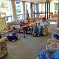 Weekly word games keep residents sharp
